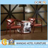 American Modern Design Genuine Leather Living Room Furniture Set