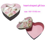 Heart-Shaped Paper Gift Packaging Box