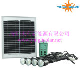 Solar Power Kit with 4PCS Portable LED