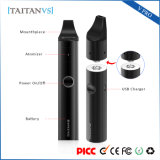 Portable Wax Electronic Cigarette Mod Dry Herb Vaporizer