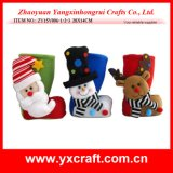 Christmas Decoration (ZY15Y006-1-2-3) New Design for Christmas Felted Christmas