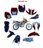 Motorcycle Spare Parts Headlamp Lights Plastic Body Cover (PC-03)