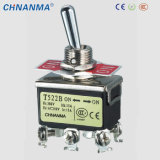 Waterproof on-off-on Miniature Toggle Switch