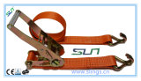 2017 5t X 9m 50mm Ratchet Strap with Ce GS