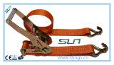 5t X 10m Ratchet Strap Sln Ce GS