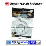 Plastic Zipper Aluminum Foil Earphone USB Wire Packaging Bag