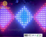 LED Vision Curtain with Animated Pattern for Pub and Stage
