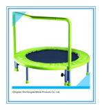 Mini High Quality Trampoline with Handrail Sports Equipment2