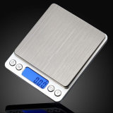 500g/0.01g Waterproof Stainless Steel Jewelry Weighting Scale Food Scale