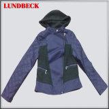Leisure Women′s PU Jacket for Winter Outerwear