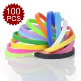 Wholesale Custom Silicone Rubber Wristband and Bracelet for Promotion
