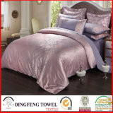 Fashion Poly-Cotton Jacquard Bedding Set Df-C157