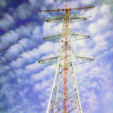 1000 Kv Steel Tubular Power Transmission Tower
