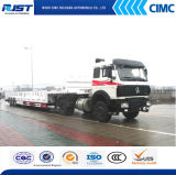 Cimc Three Axle Heavy Duty Low Bed Trailer