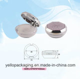 Plastic Container Cosmetics Container Cosmetic Packaging Loose Powder Case (YELLO-165)