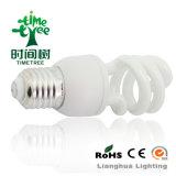 T4 24W 8kh Tri-Phosphor High Brightness Half Spiral Energy Saving Bulb CFL (CFLHST48kh)