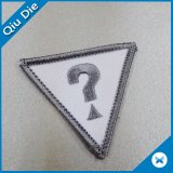 Triangle Lockrand Shape Embroidered Patches for Clothing