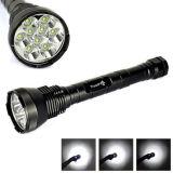 9LED CREE Xm-L T6 Hight Power Aluminum Alloy 5modes LED Flashlight