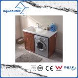 Double Doors Bathroom Vanity with Artificial Resin Basin (ACF8911)
