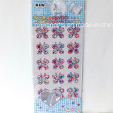 Colorful Butterfly Crystal Diamond Rhinestone Sticker (sti073)