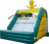 Yellow Duck Small Inflatable Dry Slide