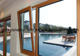 Thermal Break Aluminum Tilt and Turn Window with Double Glazing