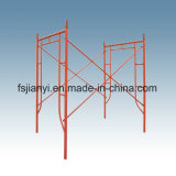 Adjustable Q235 Steel H-Frame Scaffold