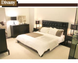 Divany Modern Home Bedroom Furniture Bed with Leather or Fabric (A-B34)