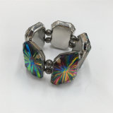 Hot Selling Multicolour Alloy bracelet with Glass Stone Jewelry Bracelet