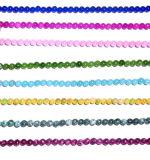 Semi Precious Stone Crystal Jade Gemstone Bead (ESB01704)