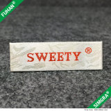 Wholesale Crochet Soft Material Woven Clothing Label for Clothing
