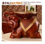 Chinese Tradition Lucky Elephant Statues Resin Chair, Cute, Christmas/ Wedding Gift, Office/Home/Hotel Decor, Arts, Craftsgya1005