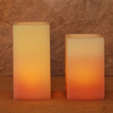 Square Candle Making Candle/Solar LED Candle Flickering Light