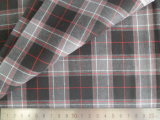 Black/Grey/White Checks 125GSM 100% Cotton Yarn Dyed Fabric