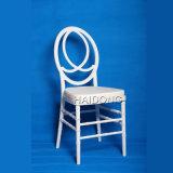 White Resin Infinit Wedding Napoleon Chair