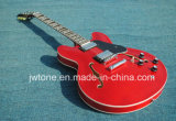 Split Pearl White Block Inlay Hollow Body Es 335 Guitar