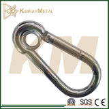Zinc Plated Snap Hook with Eyelet
