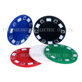 7.2g One Color Clay Poker Chip with Customize Logo Printed on It (SY-B01-1)