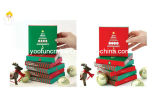 Christmas Folding Greeting Card with Gift Box