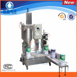 Anti-Explosion Semi-Automatic 30L Paint/Coating Filling Machine for Daily Chemical with Capping