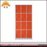 Train & Bus Station Use 12 Compartment Steel Locker for Storage Bags and Clothes