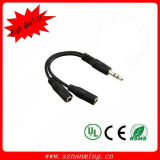 DC3.5 Audio Splitter Cable for Cell Phone