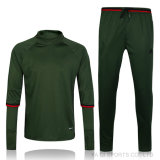 Suit Men Soccer Training Tracksuit Set Soccer Jerseys Green AC