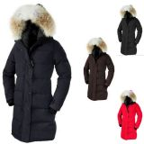 Long Length Thicken Wind Proof Women Slim Winter Down Coat