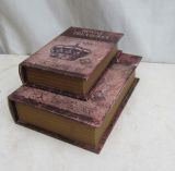 Fake Book Storage Box / Nested Book-Shaped Paper Gift Boxes