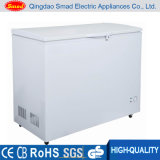 318L 12V DC Solar Top Open Solid Door Chest Deep Freezer