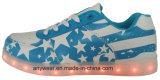 Athletic Footwear Men LED Light Sports Shoes Skateboard Sneakers (816-9980)
