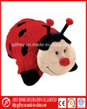 China Supplier of Plush Ladybird Toy Pillow