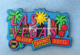 Las Vegas Soft PVC Fridge Magnet Casino Souvenir