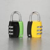 Household Security Aluminium Combination Code Padlock 3 Digital Changeable